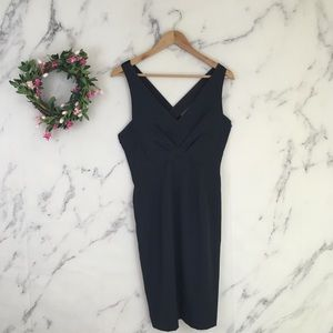 Zara Basic Velvet Criss Cross Dress